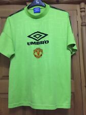 557fb2e52 Umbro Training Kit Manchester United Memorabilia Football Shirts ...