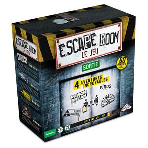 Escape Room Le Jeu - Boîte 4 jeux