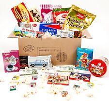 DDR Care Paket - Süßigkeiten Geschenkbox / Geburtstag Weihnachten Geschenk NEU
