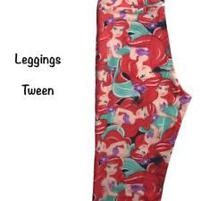 Lularoe Disney - Tween Leggings - The Little Mermaid - Ariel
