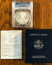 2008-W Burnished American Silver Eagle - graded SP69 by PCGS - with COA/BOX
