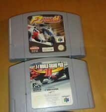 F-1 Grand Prix2+world2+Pole Position NINTENDO64 EUR PAL PARI NUOVO FUNZIONANTE