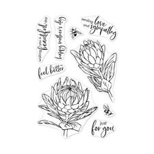 Hero Arts Clear STAMPS 4in X 6in - Protea Flowers