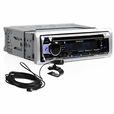 Kenwood KMR-D365BT Single Din Bluetooth/USB/Aux/AM/FM/Pandora Marine CD Receiver