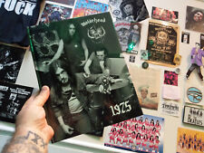 MOTORHEAD - 1975 Photo Book ( Lemmy Hawkwind Head Cat ) Larry Wallis Lucas Fox