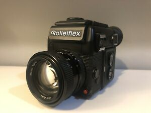 Rolleiflex Sl2000 F W/ 50mm 1.4 In Excellent Condition But For Parts.