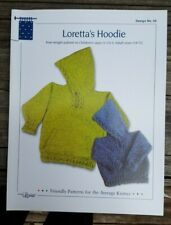 Sale! Rare Knitting Pattern: Loretta'S Hoodie By Louise (child - adult)