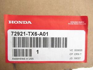 Genuine OEM Honda Acura 72921-TX6-A01 Passenger Rear Door Sash 2013-2019 ILX