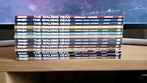 THE WALKING DEAD Volumes 1-14 paperback comics