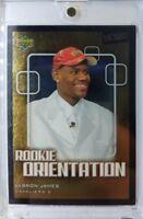 2003 03-04 Upper Deck Victory LeBron James RC Rookie Orientation #101, SP Foil