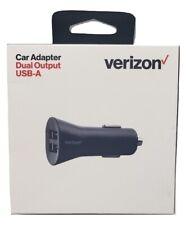 Original Verizon Car Charger with Dual Ports Black Universal - (VPC48BLK-M2)