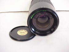 Makinon Multi-Coated Focusing Zoom one-touch, F: 3.8 75-150mm for Pentax-K