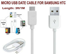 Genuine Samsung Data Charger Fast Adaptive Cable Cord USB 2.0 S7 Edge S6 HTC AUS