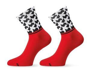 Assos Monogram Socks Evo8 (National Red)