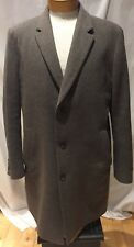 HUGO BOSS STRATUS CASHMERE-WOOL Men's Gray Coat [SIZE 46 R]