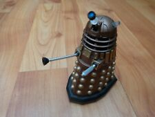 "3.75"" DR DOCTOR WHO CLASSIC GOLD DALEK & PLUNGER ACTION FIGURE BBC SERIES"