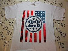 Large- Nwot Us American Flag Patriotic 23 T- Shirt