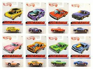 Hot Wheels Flying Customs 1:72 Scale Diecast Set of All 8 Cars - Set 3