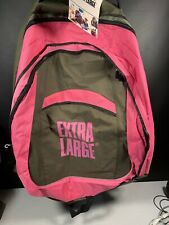 "Huge Extra Large Pink Backpack NEW With Tags Massive 34"" X 24"" Novelty Gag Gift"