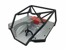 Axial AX80046 Roll Cage w/ unpainted (silver and Red) Flat Bed Scx10 1set