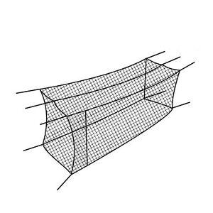 Cimarron Sports Outdoor Twisted Baseball Batting Cage Net w/ 4-Foot Access Door