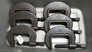 """Armstrong 78-040 C-Clamp 0"""" - 4-5/8"""" Forged Heavy Duty Pattern Bridge USA"""