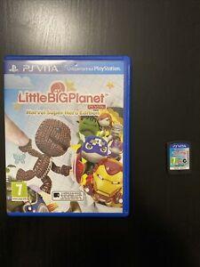 Jeu Sony Playstation Vita PS Little Big Planet Marvel Super Hero Edition Euro Pa