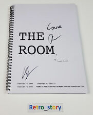 The Room Script Signé / Screenplay Signed by Tommy WISEAU & Greg SESTERO