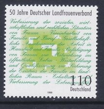 Germany 2003 MNH 1998 German Rural Women's Association Issue Very Fine