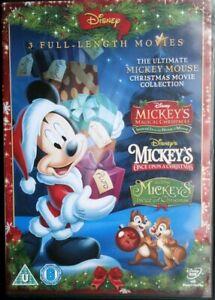 MICKEYS MAGICAL CHRISTMAS: SCROOGE/A XMAS CAROL,ONCE,TWICE, MOUSE DISNEY DVD BOX
