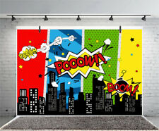 Explosion Cartoon Pattern Studio Props Vinyl Photo Backdrops Photography