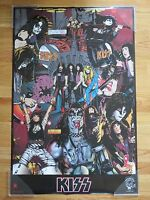 1994 KISS UNMASKED Poster PAUL STANLEY PETER CRISS GENE SIMMONS ACE FREHLEY