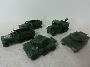 Matchbox Lesney diecast  5 vintage  Military  vehicles