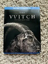 The Witch (Blu-ray Disc, 2016, with slipcover)