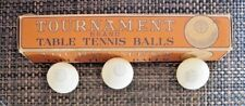 Table Tennis Ping Pong Balls in Original Box Game Tournament Brand Vintage