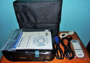 Epson Pro EX9220 Wireless Projector NEW Without Box 0 Hours Mint Condition  !