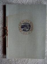 EDGAR NE NEB NEBRASKA - 1920  ORIGINAL HIGH SCHOOL ANNUAL YEARBOOK - EUC