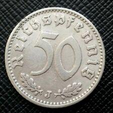 Allemagne 50 Reichspfennig 1939 J Alu   [542]
