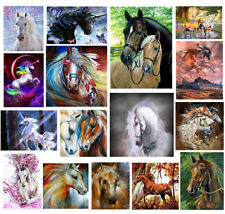 5D Diamond Painting Horse Embroidery DIY Craft Cross Stitch Kit Home Decor Art