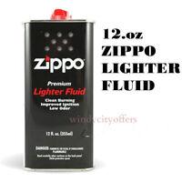 Zippo 12.oz Fuel Fluid for All Zippo Lightesr 12FC-Z