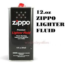 2 pack Zippo 12.oz Fuel Fluid for All Zippo Lightesr 12FC-Z