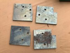67 68 1967 1968 Ford Mustang Door Hinge Retainer Plate Plates Mounting Backing