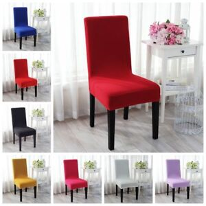 Soft Stretch Dining Chair Covers Chair Protector Slipcover Modish Decor Spandex