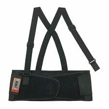 Ergodyne ProFlex 1650 Economy Elastic Back Support Belt, Black - Large Brace