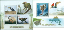 Dinosaurs Prehistoric Animals Fauna Madagascar MNH stamp set