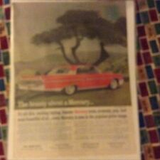 Original 1961 Mercury Monterey Magazine Ad - The Beauty About a Mercury...