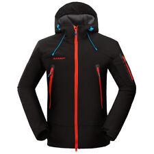 GIACCA MAMMUT SOFTSHELL JACKET Trekking - Montagna - Sport - Outdoor NERO tg. L