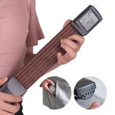 More details for pocket acoustic guitar practice tool 6 string fingerboard 6 fret chord trainer