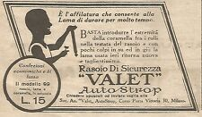 W1687 Rasoio VALET AutoStrop - Pubblicità del 1926 - Old advertising