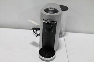Nespresso VertuoPlus Deluxe Coffee and Espresso Machine by De'Longhi - Silver